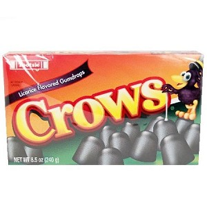 Tootsie Roll Crows Movie Theater Size Candy, (Pack of 12)
