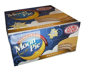 Double Decker Banana Moon Pies (Pack of 12)