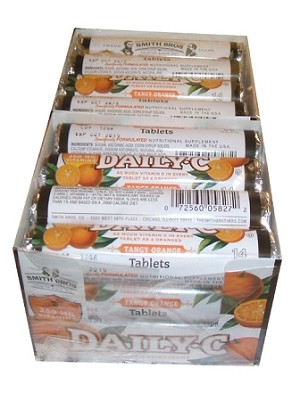 Daily C Orange Vitamin C Tablets Pack Of 24