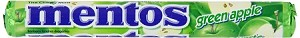 Mentos Green Apple Candy, (Pack of 15)