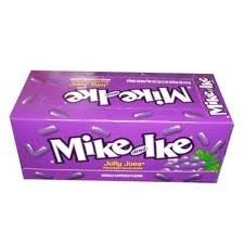 Mike and Ike Jolly Joes Candy 0.78 Ounce Boxes, (Pack of 24)