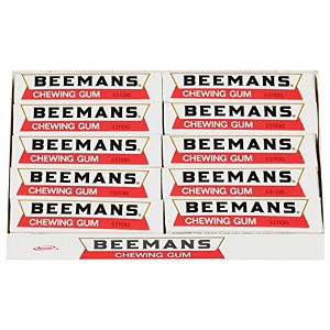Beeman's Chewing Gum Pack of 20