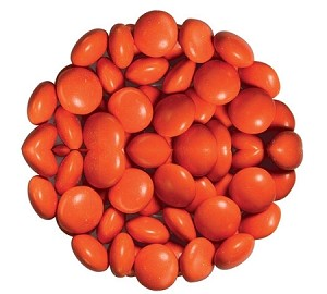 Orange Chocolate Color Drops, 15 Pounds