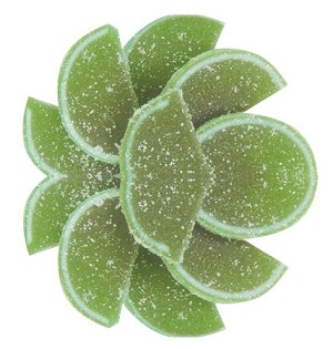 Lime Fruit Slices, 5 Pounds