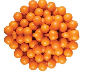 Sixlets Orange Chocolate Candy, 12 Pounds