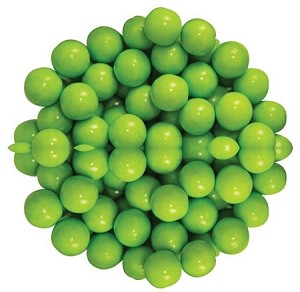 Sixlets Lime Green Chocolate Candy, 12 Pounds