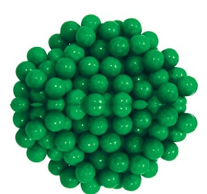 Sixlets Green Chocolate Candy, 12 Pounds