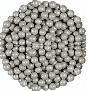 Oak Leaf Pearls Silver Candy, 10 Pounds