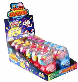 Dubble Bubble Big Jackpot Dipsensers, (Pack of 12)
