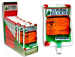 Zombie Blood Lime Flavored Liquid Candy (Pack of 12)