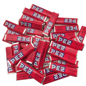 Cherry Pez Candy Rolls 1 Pound Bag by The Online Candy Shop
